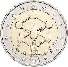 Belgium 2 Euro uncirculated Coin 2006 -  Atomium Brussel