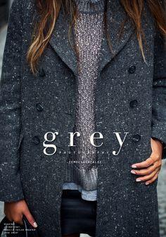Grey +heather+ leather - warm layering