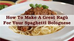 Spaghetti bolognese is just about everyones favourite. It's served at top restaurants and loved by students. It's certainly one of my favourite pasta dishes. You can buy bolognese sauce atsupermarkets and your local shops but there's no reason why you can't make your ownragù alla bolognese – as the Italians actually call it. In fact, it will taste just that much better if you do.