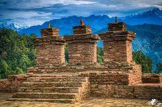 Rabdentse ruins, a perfect getaway