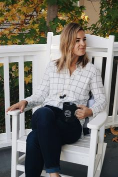 Windowpane Flannel (and Madewell + Natalie Borton Pop-Up Shop!) – Thoughts By Natalie
