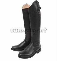 En cuir bootshorse équitation Équestre Équitation Bottes haute bottes bottes et un chevalier En Cuir bottes