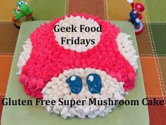 Geek Food Friday: Super Mushroom Cake - Gluten Free Crumbley