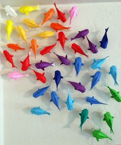 Wall Of Rainbow Koi #howto #tutorial