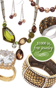 Park Lane Jewelry  Get it for FREE because you can...www.myparklane.com/cbeltran Ill help you get what you want at a price you can afford! ! ! we are in it to win it girls...