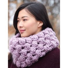 Patons Easy Cowl Free Pattern