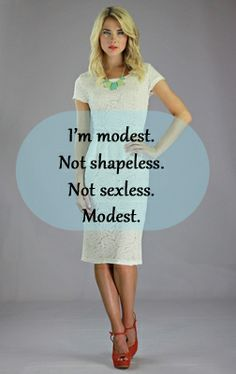 Femininity and Modesty in Dress: Follower of Christ's Blog