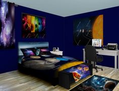 Kids Bedroom At Night solarsystem mobile | my dream home - maison de rêve | pinterest