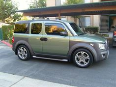 Green Movement (Green colored Es - post your pics here!!!) -. Honda Element Page