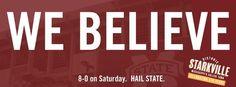 WE BELIEVE! 8-0 #hailstate