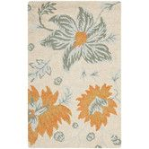 Found it at Wayfair - Blossom Ivory Floral Area Rug