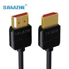 Cheap hdmi cable, Buy Quality cable hdmi directly from China cable hdmi 2.0 Suppliers: SAMZHE Slim HDMI Cable HDMI to HDMI Cable HDMI 2.0 4K 3D for PS3 Projector HD LCD Apple TV Computer Cables 0.5M 1M 1.5M 2M 3M