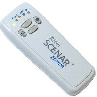"""Scenar Energy Medicine - Self Controlled Energy Neuron Adaptive Regulation  Scenar is a small hand held device with an electrical contact at one end; it is powered by a 9V battery. It """"listens"""" to the body by recording the skin's galvanic response, and its electrical impedance. Scenar then returns a newly modified signal back to the body, and listens to the reply – which becomes a bio-feedback treatment loop."""