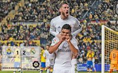 Video Las Palmas 1-2 Real Madrid (La Liga 2015/16 matchday 29)