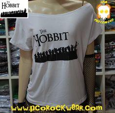 Blusa Gola Caída Hobbit - R$40,00.