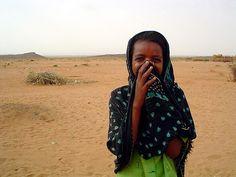 Muslim girl from Darfur