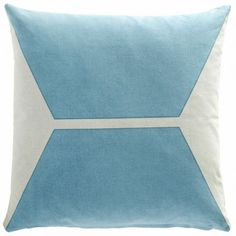 Cushion from Oyoy Living Denmark blue and grey, Japanese style with Scandinavian design influence. 50 x Canvas cotton soft furnishing Nordic Design, Scandinavian Design, Loft Room, Grey Cushions, Colorful Feathers, Danish Design, Lettering Design, Decorative Accessories, Blue Grey