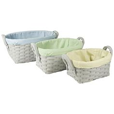 Woven Laundry Basket with Solid Print Liner (Set of 3) (Blue and Green) Home Accents http://www.amazon.com/dp/B00VTYSNQ4/ref=cm_sw_r_pi_dp_NQAGvb1RVNF38