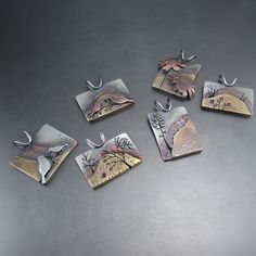 Mixed Metal Pendants by Beth Millner Jewelry! www.bethmillner.com: