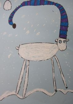 Russell the Sheep - draw/describe hat