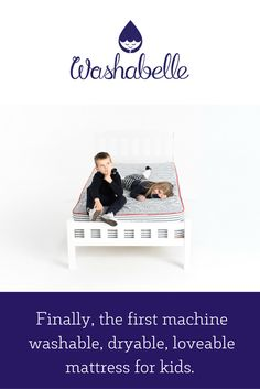 Washabelle is the only memory foam mattress you can truly wash and disinfect. Machine washable and dryable. Memory Foam, Mattress, Bedding, Layers, Laundry, Gift, Layering, Laundry Room, Laundry Service