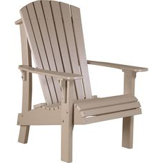 LuxCraft Royal Recycled Plastic Adirondack Chair
