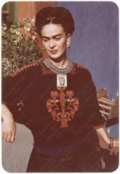 Frida Kahlo, Jan. 24 1948. Photo by Florence Arquin (1900-1974). Image via the…