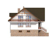 DOM.PL™ - Projekt domu DP frydman CE - DOM PK1-23 - gotowy koszt budowy Home Fashion, House Plans, House Styles, Home Decor, Model, Houses, Decoration Home, Room Decor