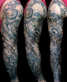 Where to find amazing dj tattoo designs by Breana Chavez for arms Bike Tattoos, Badass Tattoos, Music Tattoos, Tatoos, Music Tattoo Designs, Tattoo Sleeve Designs, Tattoo Designs Men, Music Tattoo Sleeves, Arm Sleeve Tattoos