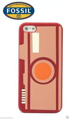Fossil Camera iPhone 5 Case Pinks SL4289650 - Old School Style