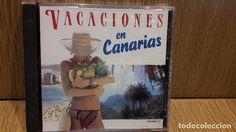 VACACIONES EN CANARIAS. CD / DIVUCSA - 1990 - 20 TEMAS / PRECINTADO.