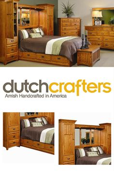amish monterey pier wall bed unit with platform storage base amish furniturebedroom - Pier Wall Bedroom Furniture