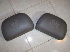 02-06 Cadillac Escalade 2nd Second Row Leather Headrest OEM
