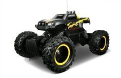 I bought this for my 5 year old for his birthday and he can not get enough of it. It 's very easy to use for him and he got the hang of driving in a few minutes. Despite some reviews I think it's fast enough and my son.  http://www.electronicsforkids.ustoygames.com/maisto-rc-rock-crawler-colors-may-vary-review/