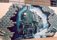 Graffiti Street Art by Geoff Demain