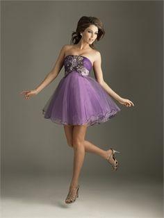 Strapless Tulle Applique Violet Mini Prom Dress PD1231 http://www.simpledresses.co.uk/strapless-tulle-applique-violet-mini-prom-dress-pd1231-p4208.html £77.0000