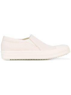 RICK OWENS DRKSHDW Slip-On Trainers. #rickowensdrkshdw #shoes #sneakers