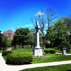 Beautiful day on campus!