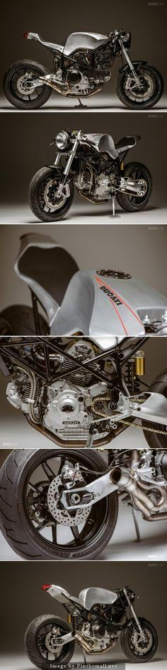 Ducati 900SS custom by Atom Bomb #custom #motorcycle