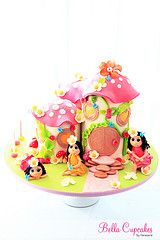 Magical Fairy House Cake
