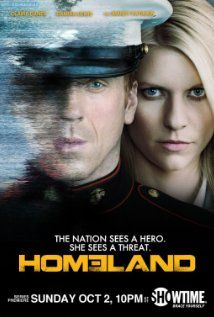 Homeland  8.6 rating on IMDB    Marine Sergeant Nicholas Brody returns home eight years, after going missing in Iraq. Carrie Mathison, a driven CIA officer, suspects he might be plotting an attack on America.    Stars: Claire Danes, Damian Lewis and Morena Baccarin