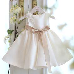 Off White Flower Girl Dress, Ivory Flower Girl Dress, New flower girl dress, White bridesmaid dress, White pageant dress, Prom dress, Baby girl birthday outfit
