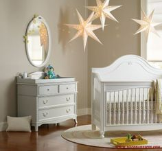 white baby room decoration  Best Baby Room Decorations