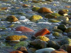 Stephenville (Beach Rocks at Sunset) Newfoundland Canada, Newfoundland And Labrador, O Canada, Canada Travel, Beautiful Sites, Beautiful Islands, Ocean Sounds, Beach Rocks, Amazing Pics