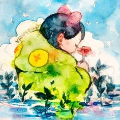 Frog Watercolors on #hahnemuhle #sketchbook #art #drawing #frog #lake #illustration #watercolor #painting