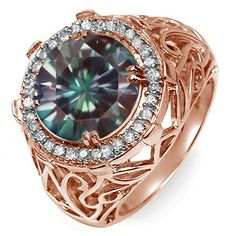 Jared - 1/6 Ct. tw Diamond Color Stone Ring