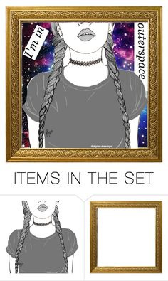 """art set of a sort"" by bands-are-all-i-need ❤ liked on Polyvore featuring art"