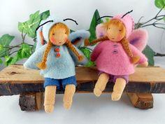 Zwei kleine Schmetterlinge - Tanjasblumenkinder.de