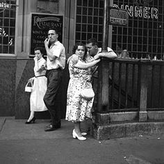 Unknown photographer now known: Vivian Maier.