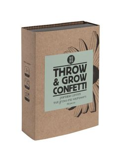 Throw & Grow confetti - multicolor